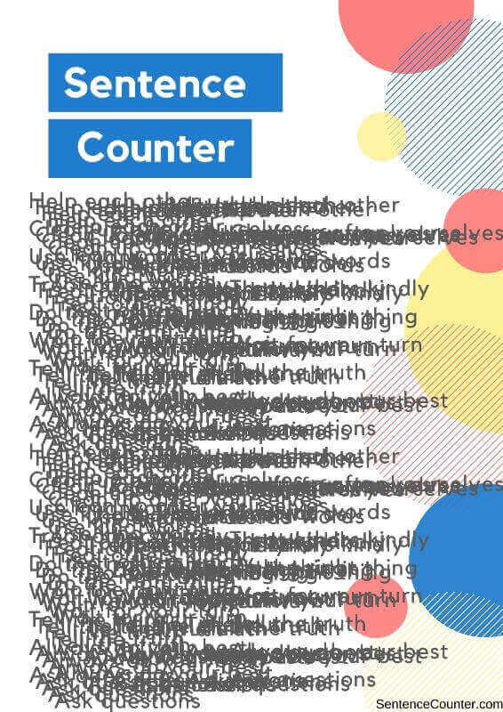 Sentence Counter Word Counter